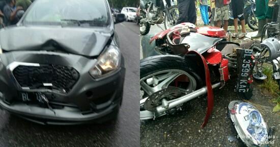 Laga Kambing Datsun Go dengan Scoopy di Lhoksukon, Satu ...