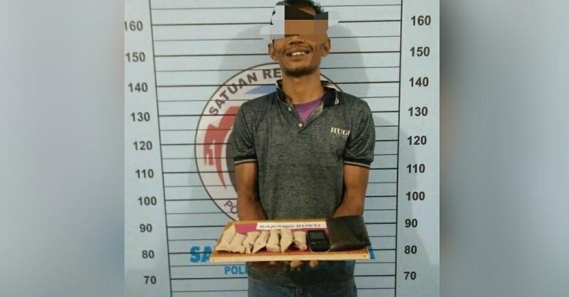 Jual Ganja, Pria ini diboyong ke Polres Aceh Utara
