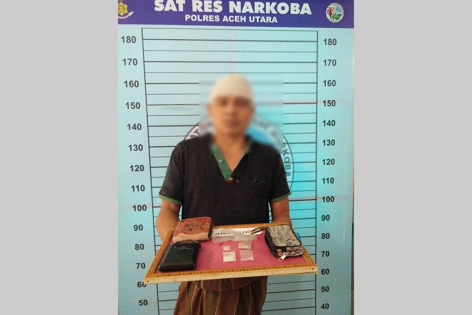 Maini, Buronan Kasus Narkoba Polres Aceh Utara dilumpuhkan dengan Tembakan