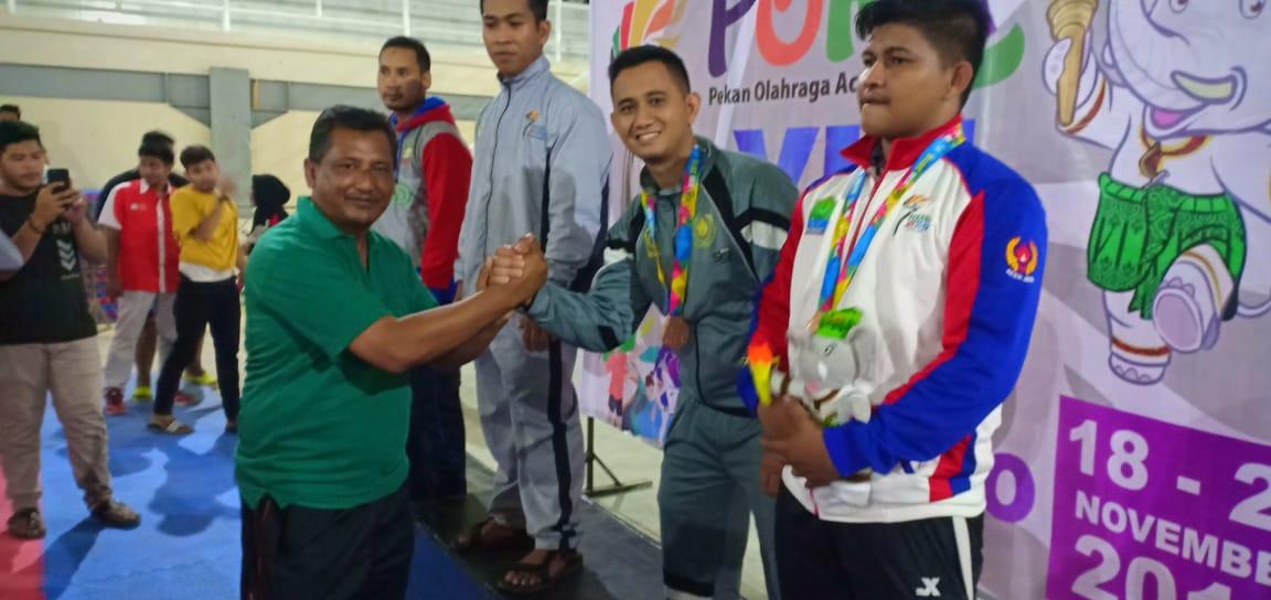 Personel Polres Aceh Utara Raih Medali Perunggu di Pekan Olahraga Aceh