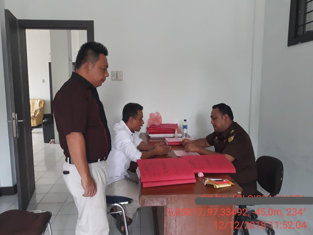 Penyidik Limpahkan Berkas Perkara Ketua YARA Aceh Timur ke Jaksa
