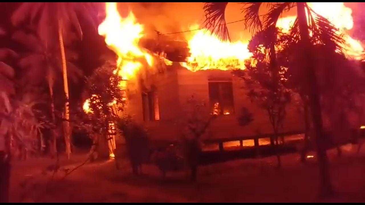 Rumah Musnah Terbakar Terjadi Lagi di Aceh Utara