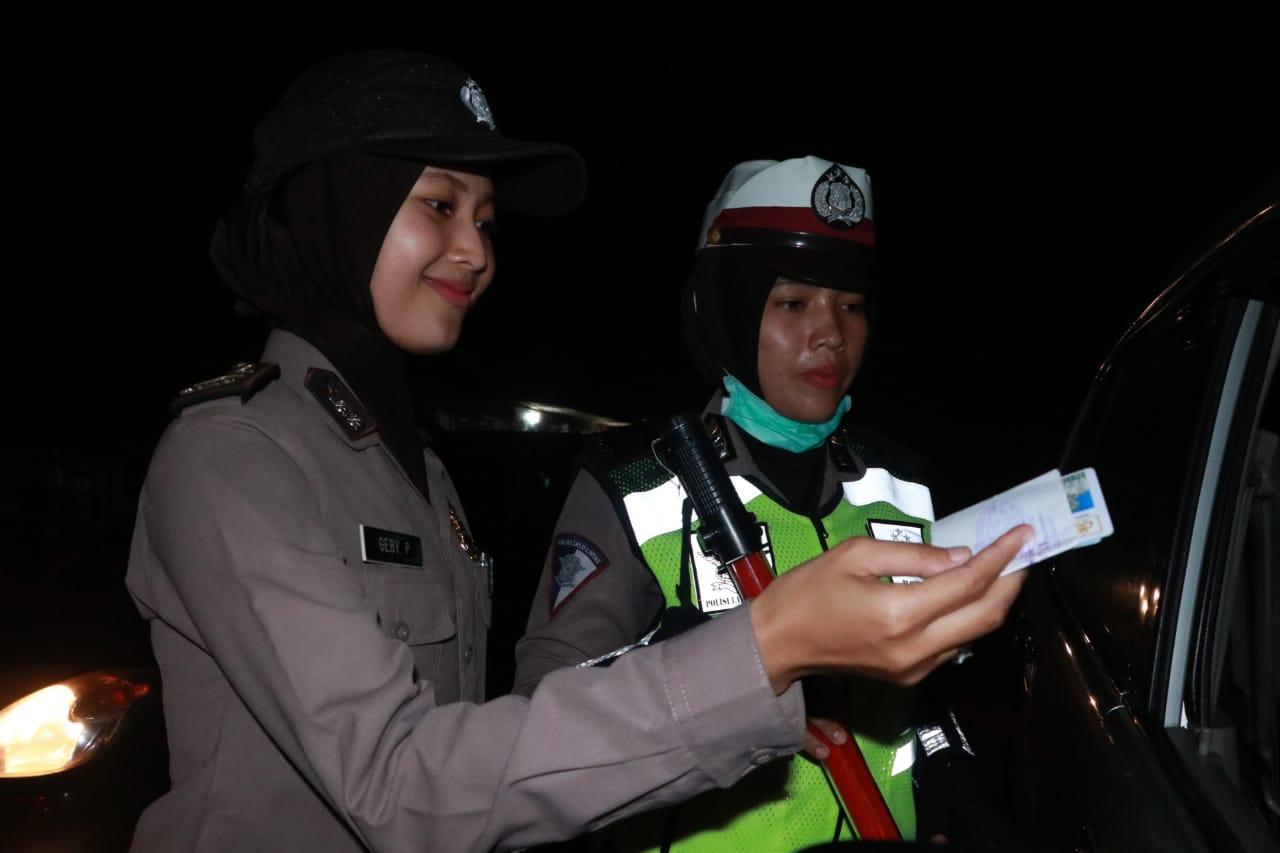 [Foto] Razia Gabungan Cipta Kondisi Polres Aceh Utara Jelang Pergantian Tahun