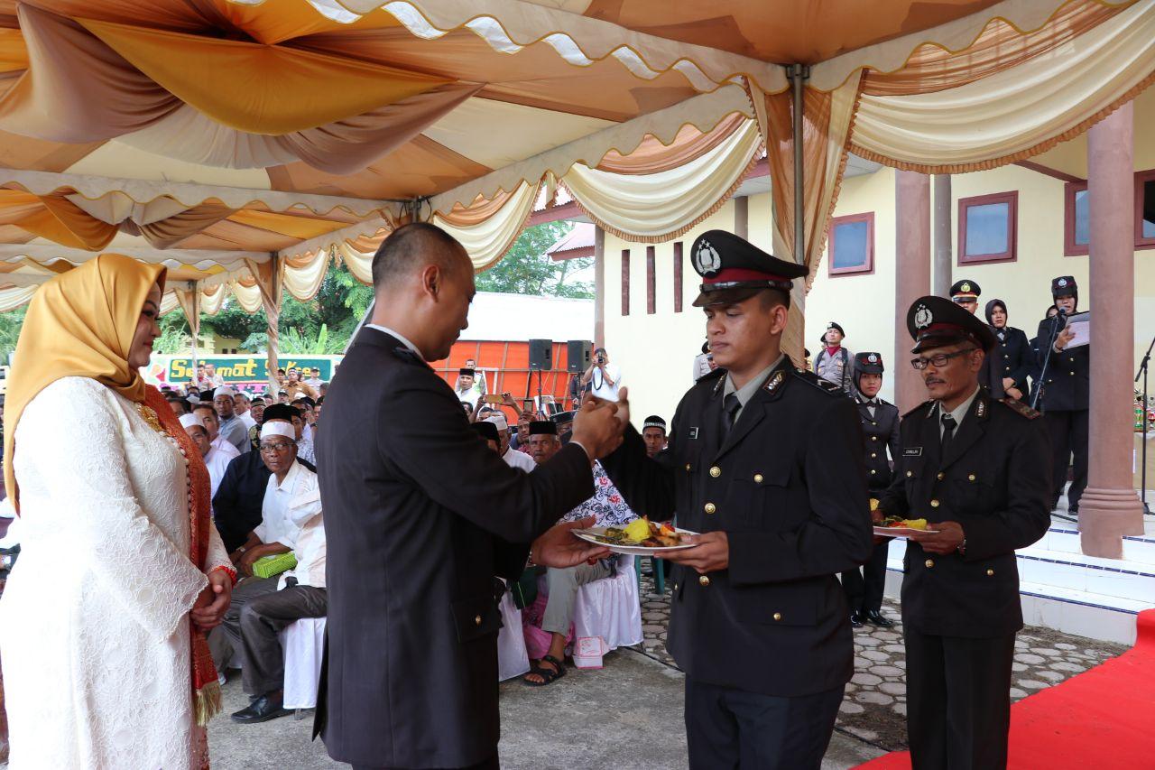 Puncak HUT Bhayangkara ke 73, Polres Aceh Utara Gelar Syukuran dan Pesta Rakyat