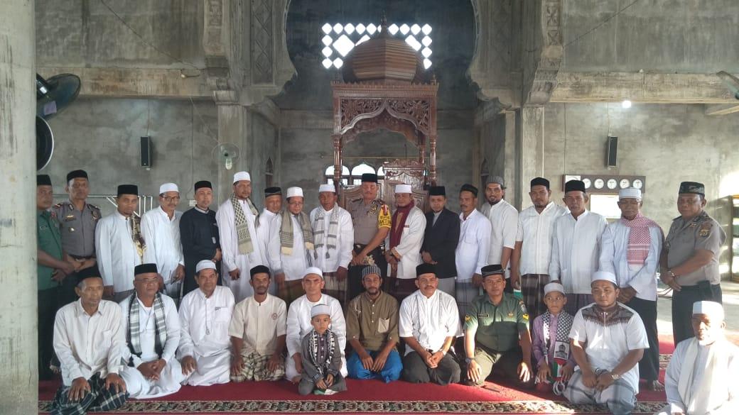 Safari Subuh Polres Aceh Utara dilanjutkan ke Masjid Baitul Malfirah Kec. Baktiya
