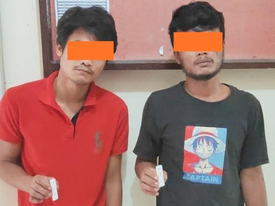 Terjerat Kasus Sabu, Dua Pemuda Asal Medan Ditangkap di Panton Labu
