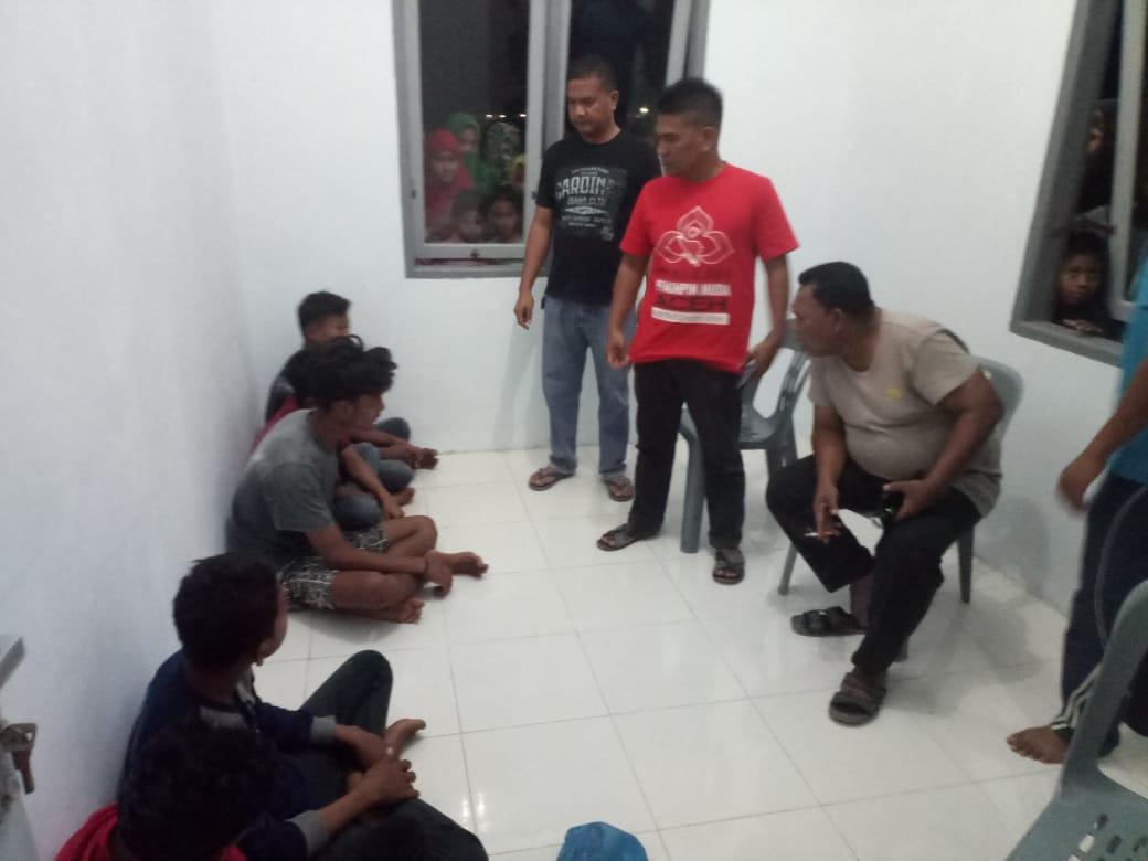 Rampas HP Dua Remaja, Tiga Jambret Ditangkap Warga di Seunuddon