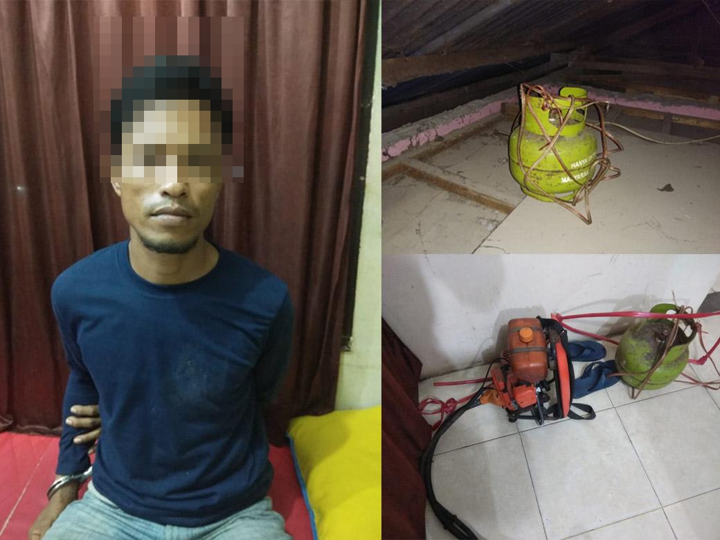 Pengedar Sabu Ditangkap Polisi, Rumahnya Malah Dibobol Kawan Sendiri