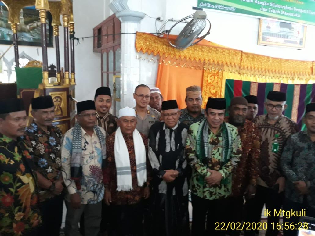 Menteri Agama Fachrul Razi Ke Matangkuli