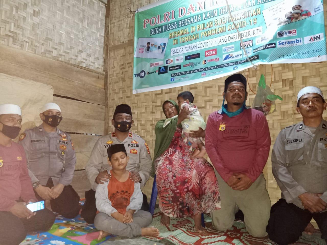 Video : Polri dan Insan Pers Buka Puasa Barsama Dhuafa dan Anak Yatim
