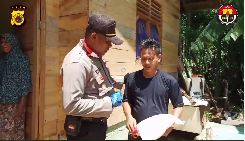 Video : Aksi Polsek Tanah Luas Peringati Hari Lahir Pancasila