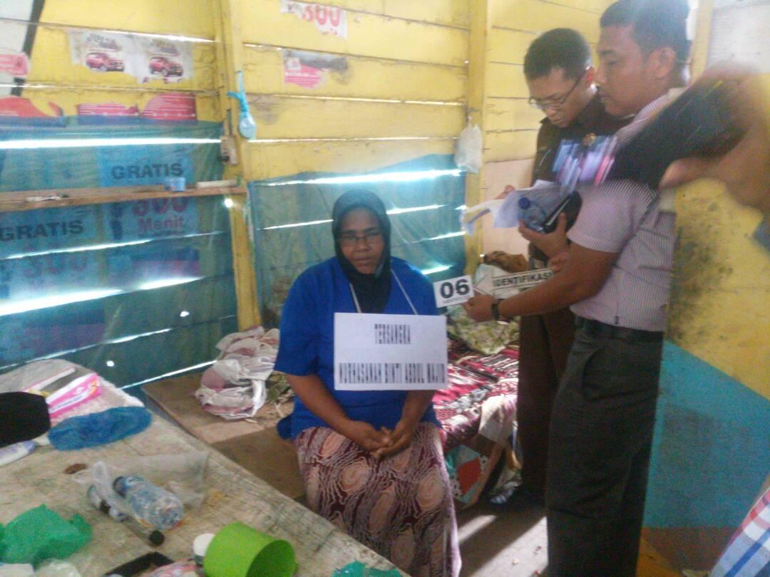Polisi Gelar Rekonstruksi Istri Aniaya Suami Hingga Tewas di Aceh Utara