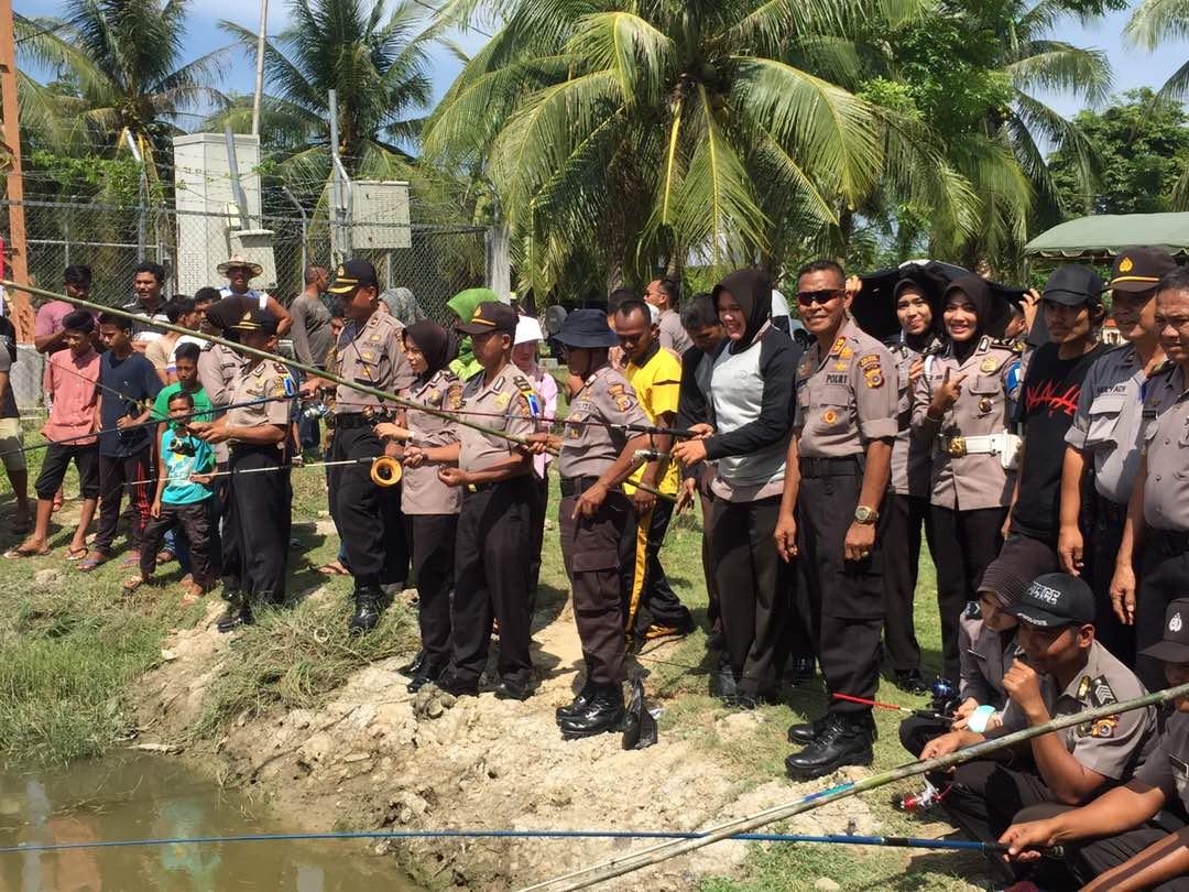 Semarak Lomba Sambut HUT Bhayangkara ke-71, Ini Hadiah Istimewa Dari Kapolres Aceh Utara