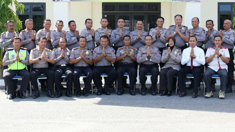 Belasan Perwira Polres Aceh Utara & Jajaran Dimutasi