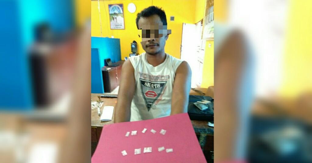 Diduga Sering Menjual Paket Sabu, Dek Gam Dibekuk Polisi Di Cot Girek