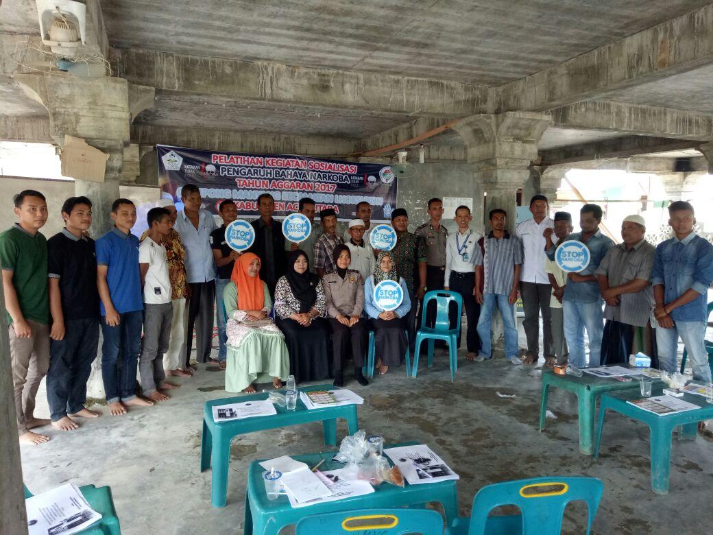 Polres Aceh Utara dan BNN Sosialisasi bahaya Narkoba
