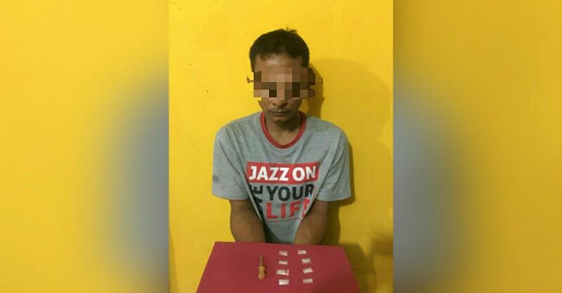 Pemilik 8 Paket Sabu di Panton Labu Diboyong ke Polres Aceh Utara