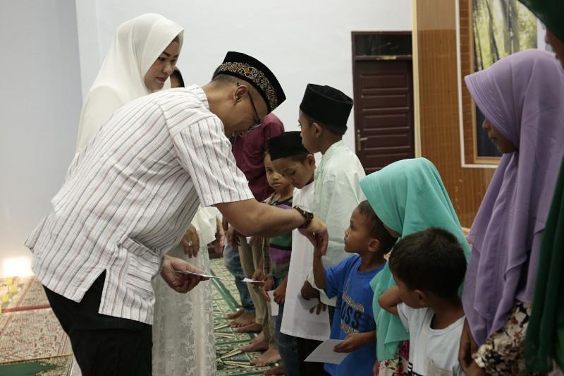 Polres Aceh Utara Gelar Buka Bersama dengan Anak Yatim