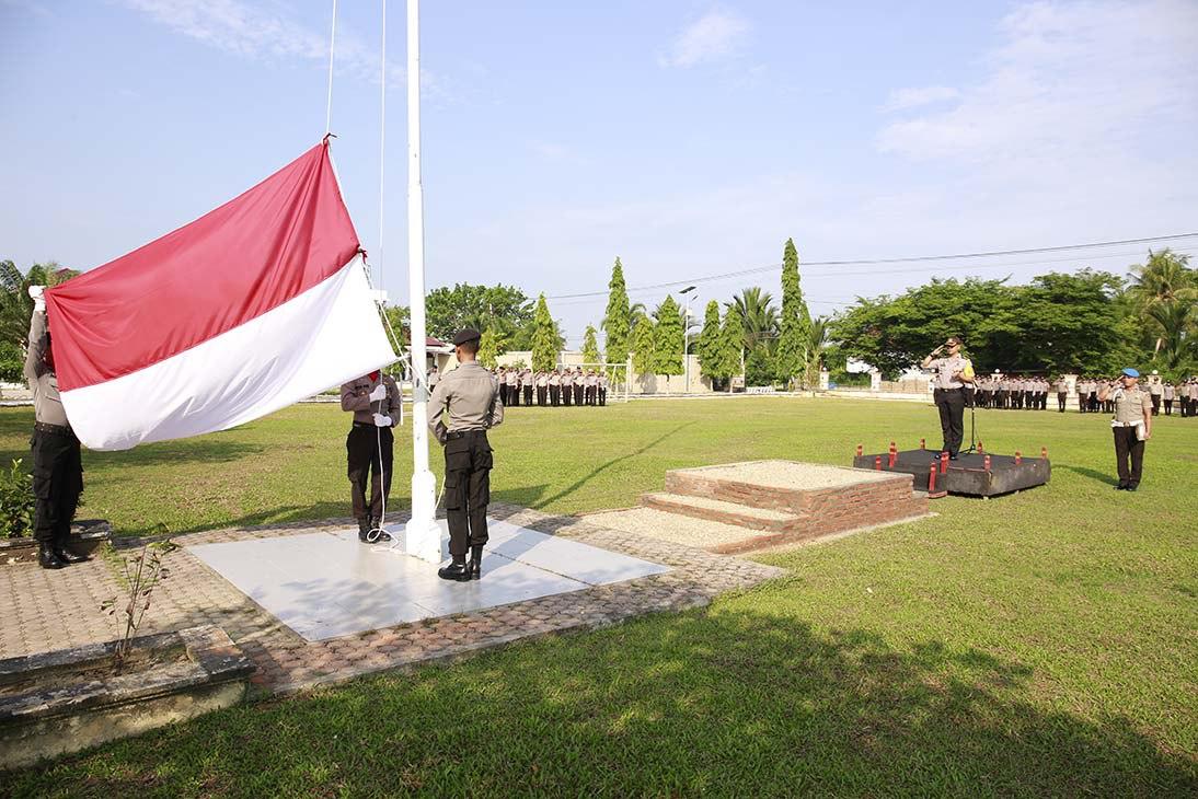 Kapolres Aceh Utara : Tingkatkan Sinergitas yang Baik dengan Jajaran TNI