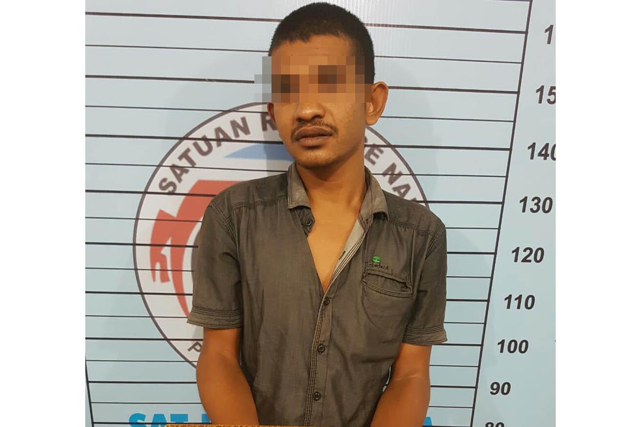 Miliki Sabu, Pemuda Nibong ini diboyong ke Polres Aceh Utara