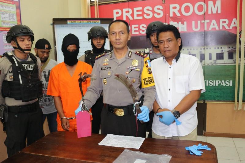 Terkait Pembacokan Keuchik di Aceh Utara Polisi Periksa 3 Saksi