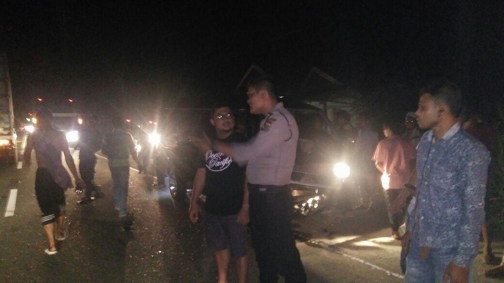 Mopen L300 Kontra Vario di Lhoksukon, Dua Korban Tewas ditempat