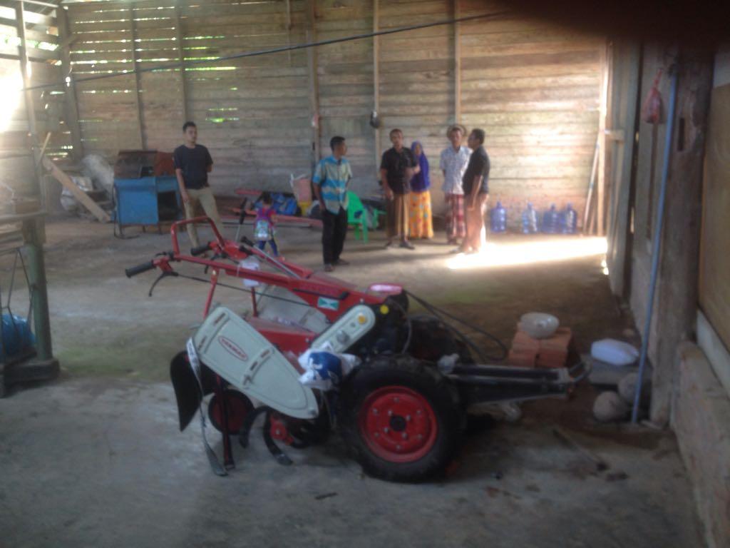 Mesin Hand Traktor Milik Desa Hilang Digondol Pencuri