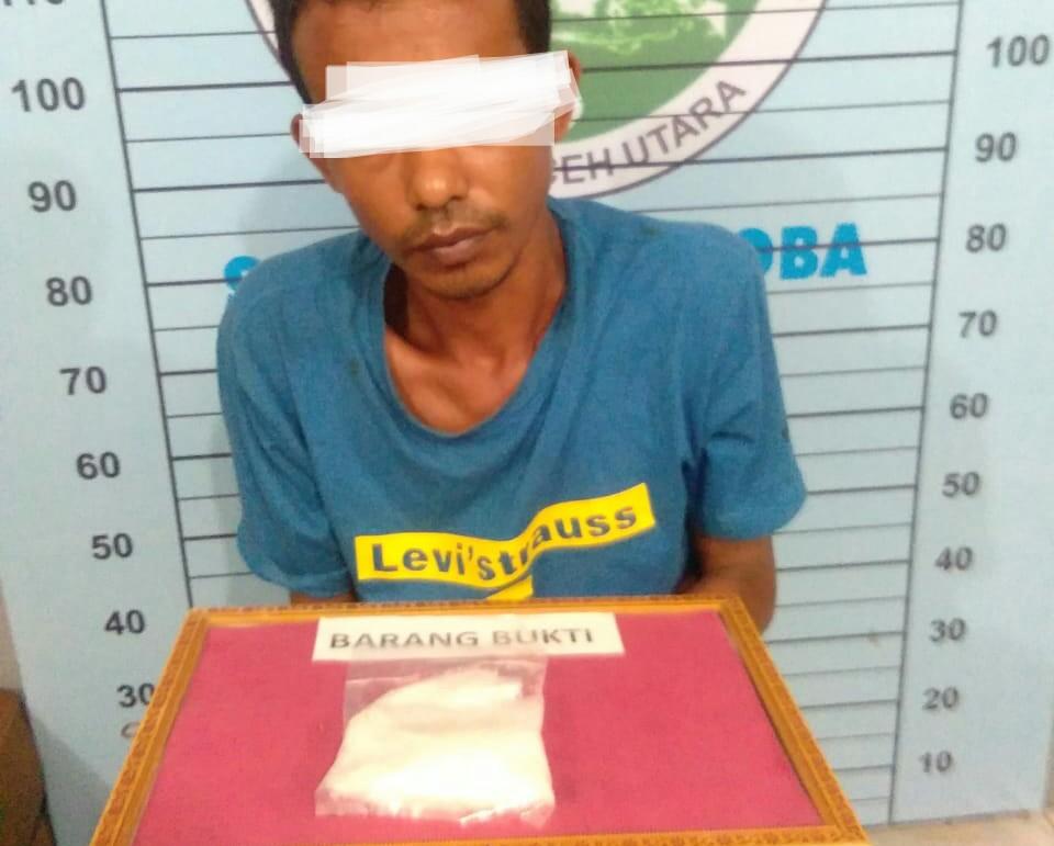 Melawan Saat ditangkap, Pemilik 1 Ons Sabu dilumpuhkan dengan Timah Panas