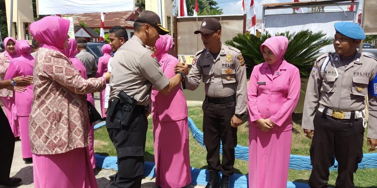 Kapolres Aceh Utara Lanjutkan Kunjungan Kerja ke Matangkuli dan Pirak Timu