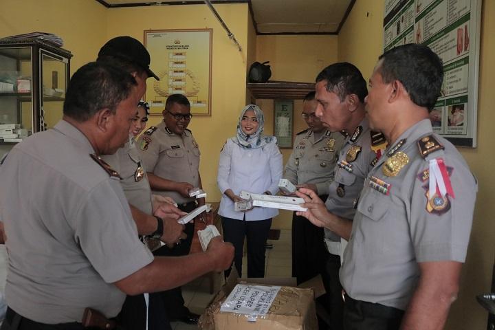Tim Komisi Periksa Stok Obat-obatan Poliklinik Polres Aceh Utara