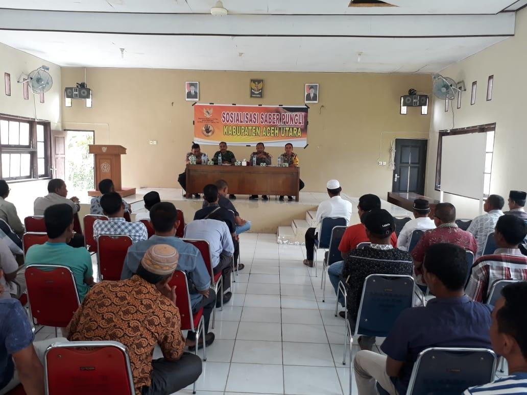 Satgas Saber Pungli Lakukan Sosialisasi di Kecamatan Nibong