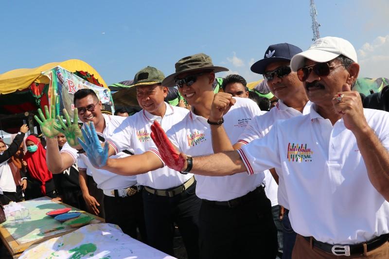 Bupati Apresiasi Millennial Road Safety Festival Polres Aceh Utara