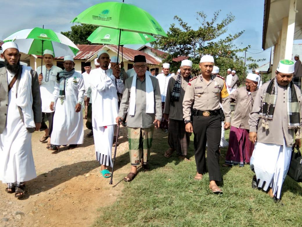 Kapolres Aceh Utara Hadiri Haul ke-10 Sirul Mubtadin