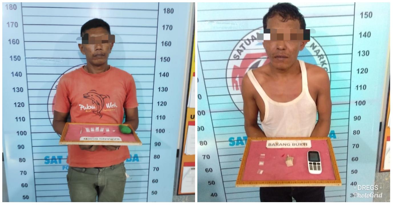 Lagi, Dua Pengedar Narkoba di Aceh Utara diciduk Polisi
