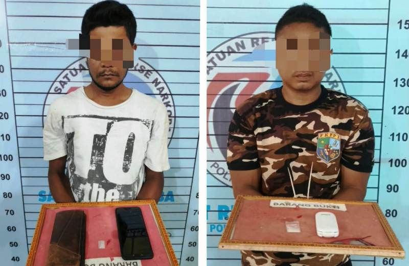 Diduga Edarkan Sabu, Dua Pria Aceh Utara Diciduk Polisi