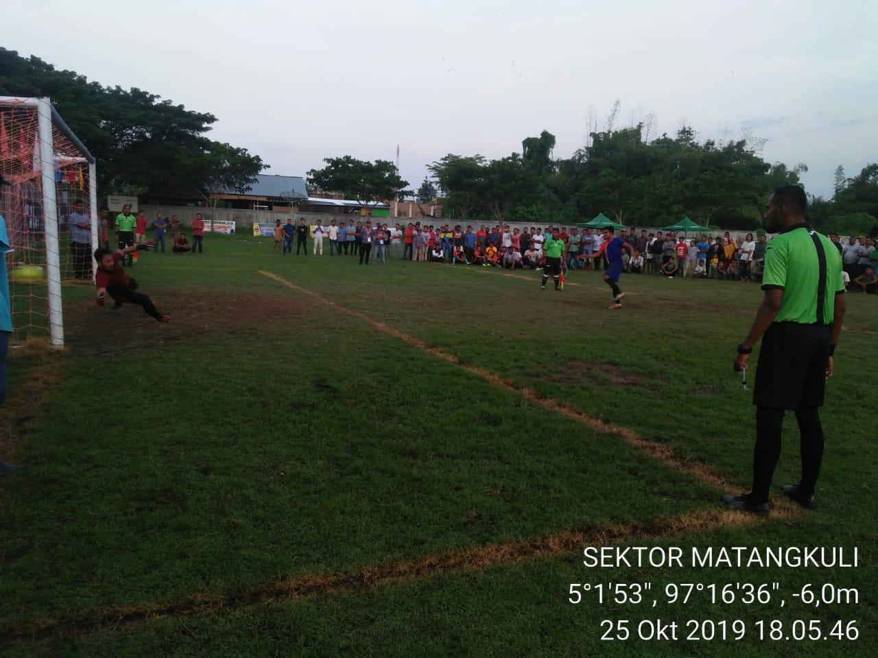 Kapolsek Cup II 2019 Matangkuli, PS TJ Seureukui vs PSKP Alue Bing