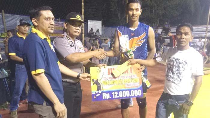 Congkobo Juarai Turnamen Voli Kapolres Aceh Utara Cup