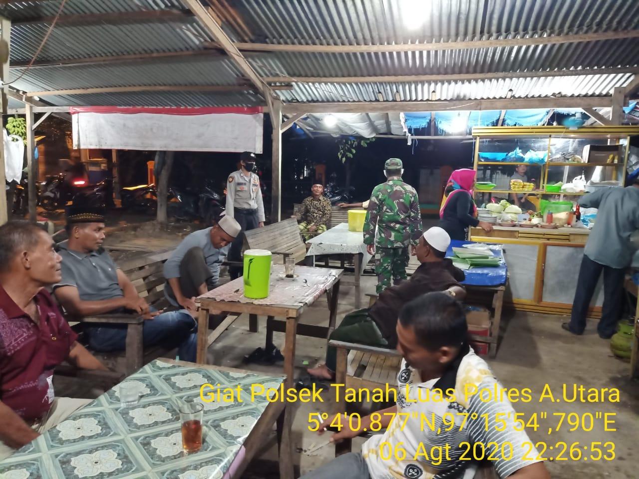 Polres Aceh Utara Ingatkan Masyarakat Tentang Protokol Kesehatan