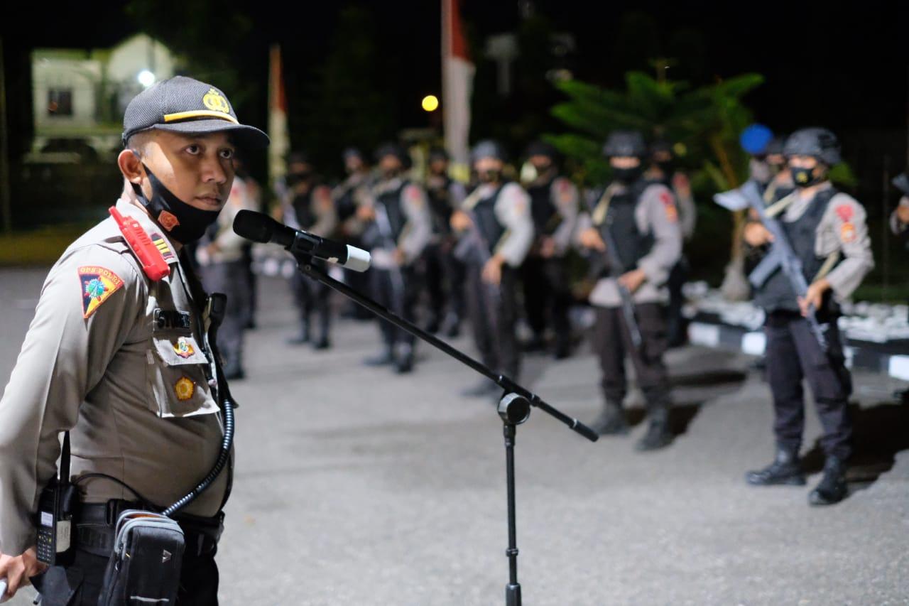 Jelang Peringatan Hari Damai Aceh ke-15, Polres Aceh Utara Tingkatkan Patroli