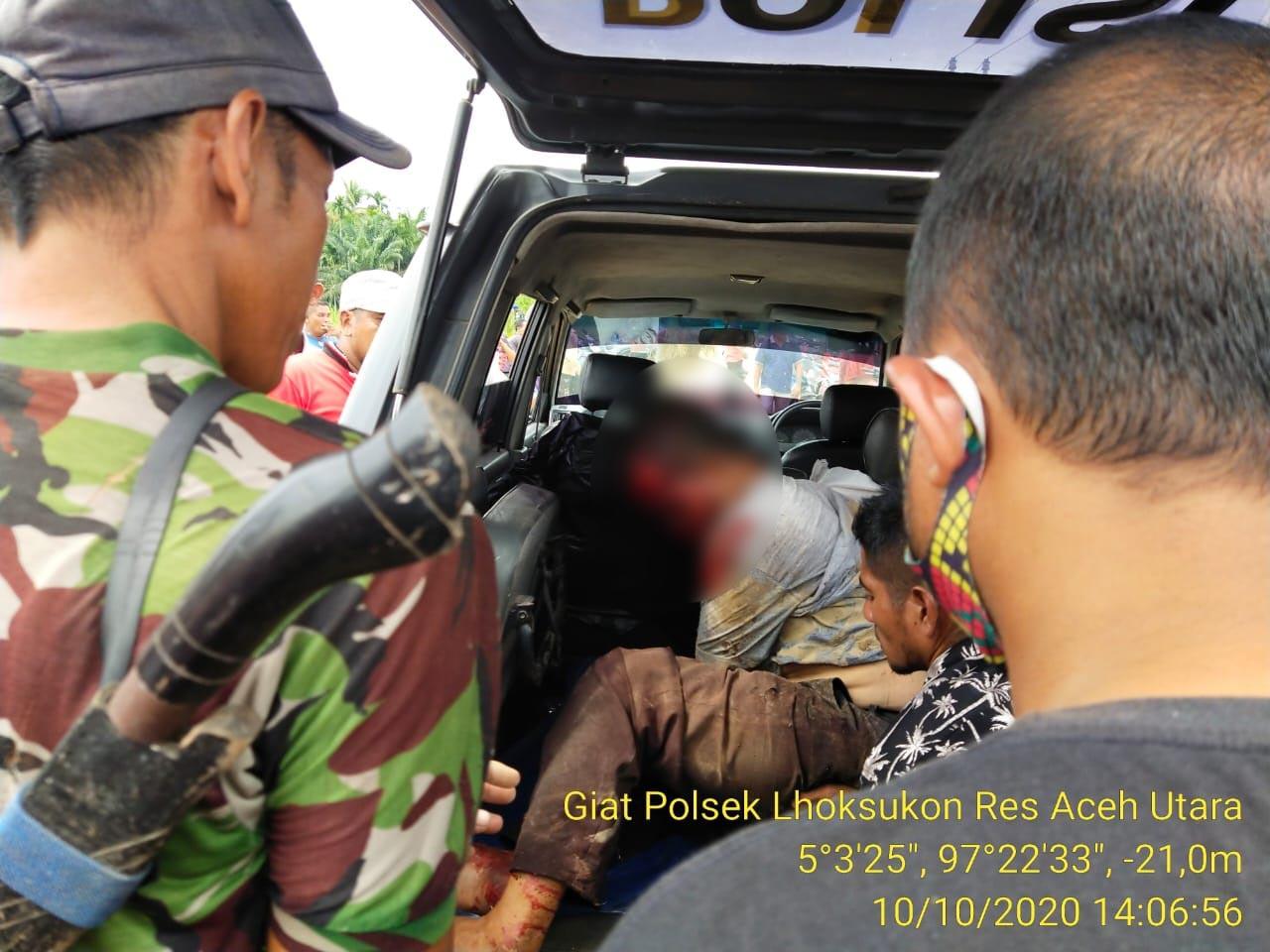 Kabur Diteriaki Maling, Pria Paruh Baya di Lhoksukon Kritis Karena Kecelakaan