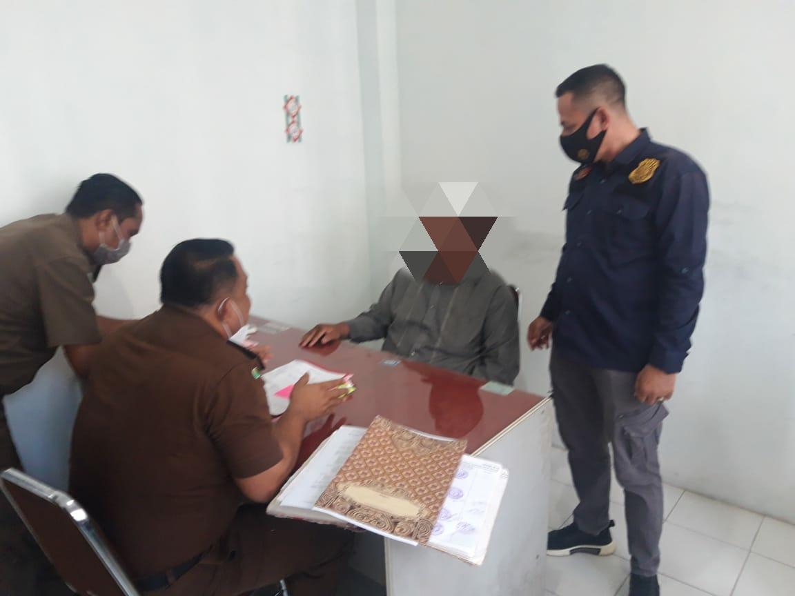 Sat Reskrim Polres Aceh Utara Limpahkan Kasus Mantan Keuchik ke Jaksa