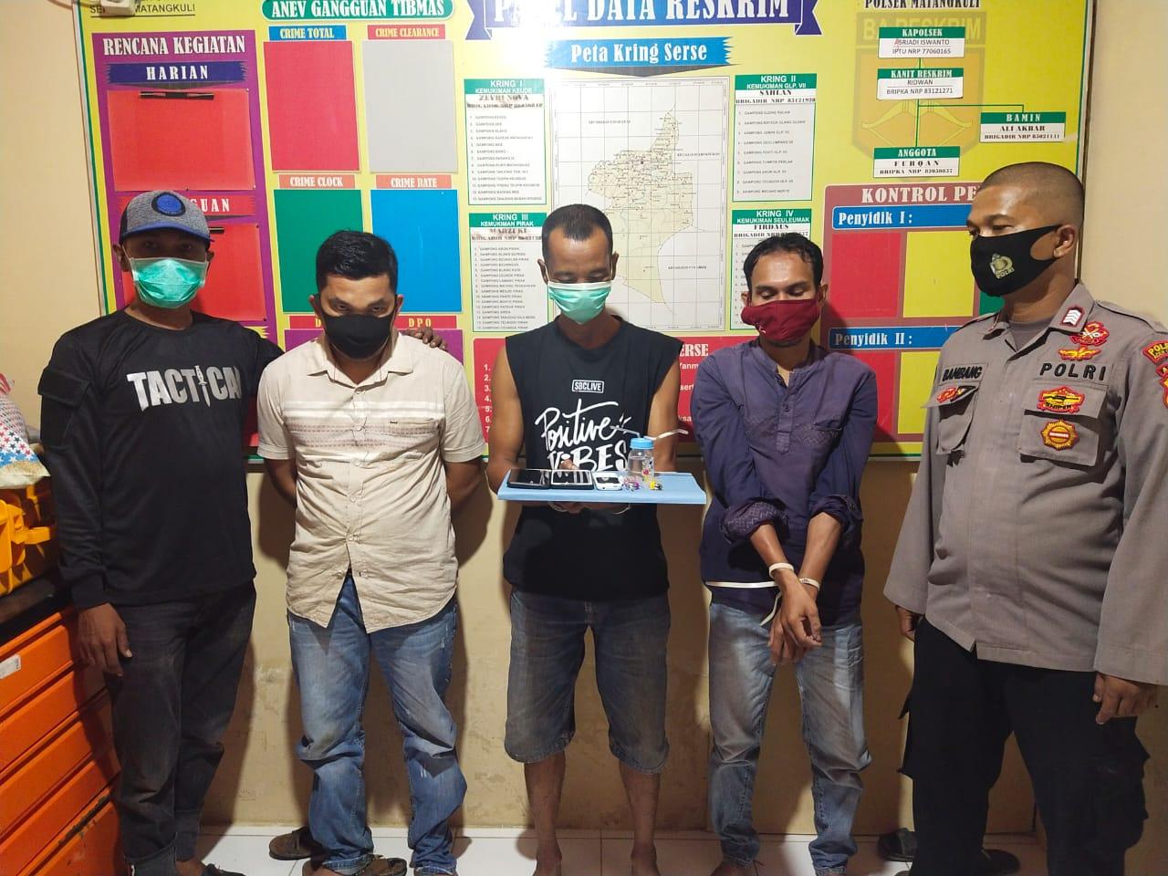 Oknum Keuchik di Matangkuli digerebek Polisi Tengah Pesta Sabu Dengan Warganya
