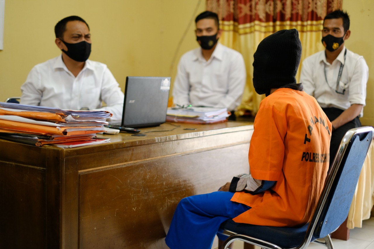 Polres Aceh Utara Usut Kasus Cucu Diperkosa Kakeknya