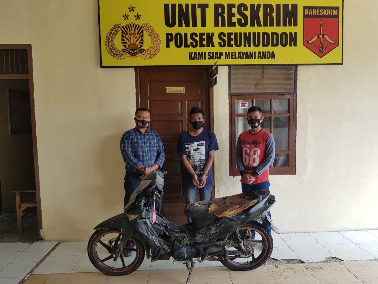 Pelaku pembakar Sepmor di Aceh Utara Ditangkap Karena Mencuri di Banda Aceh