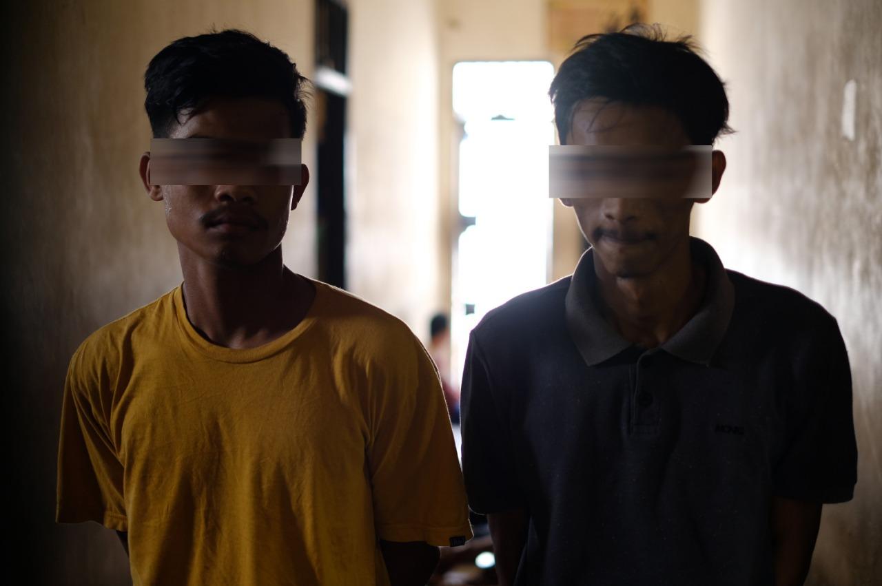 Jual Beli Chip Higgs Domino, Dua Pemuda di Panton Labu diboyong ke Polres