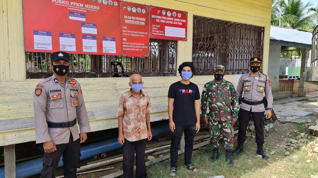 Sinergitas Mantap, Kecamatan Tanah Luas Rampungkan Posko PPKM Mikro di 57 Gampong