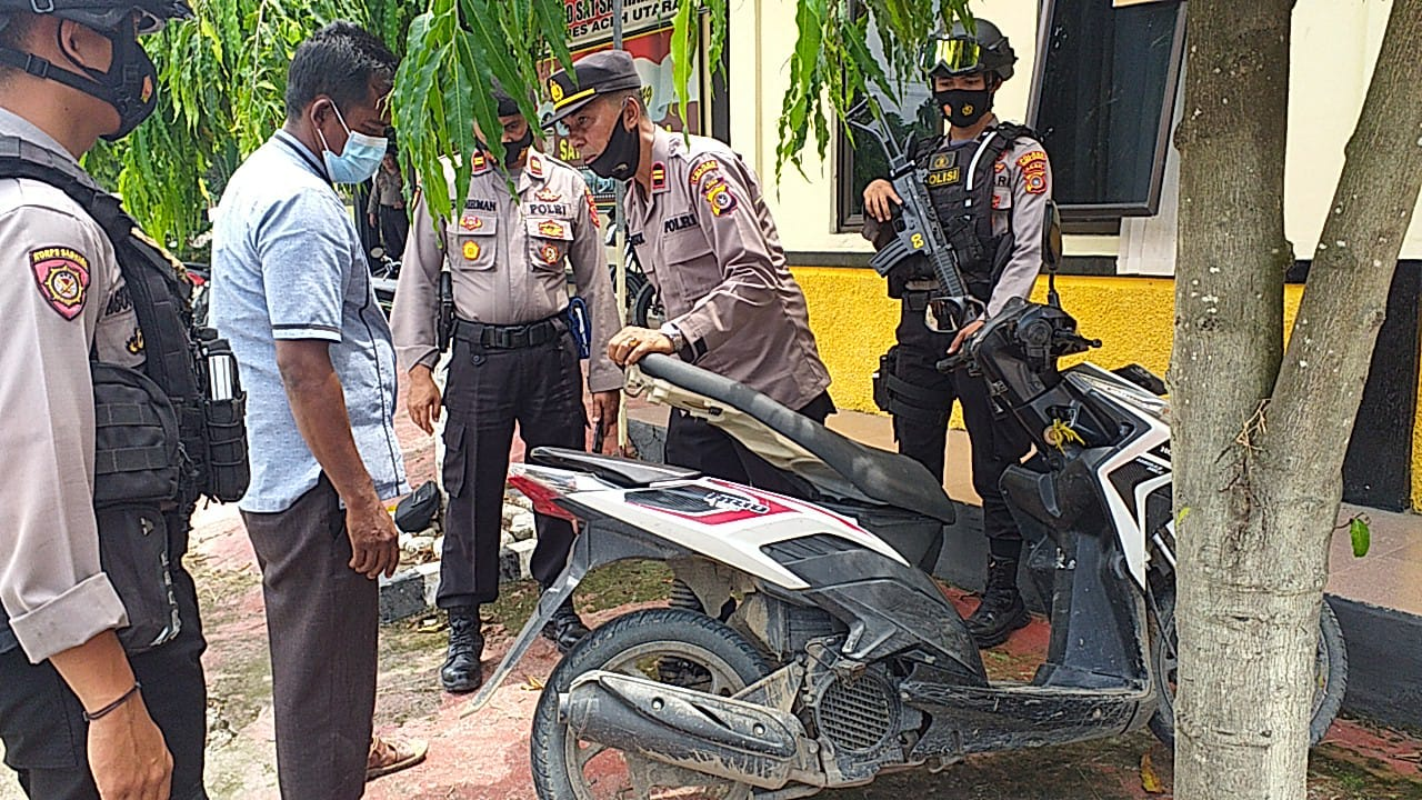 Kawanan Pencuri Gondol Uang Rp47 Juta di Parkiran Warung Kopi Lhoksukon