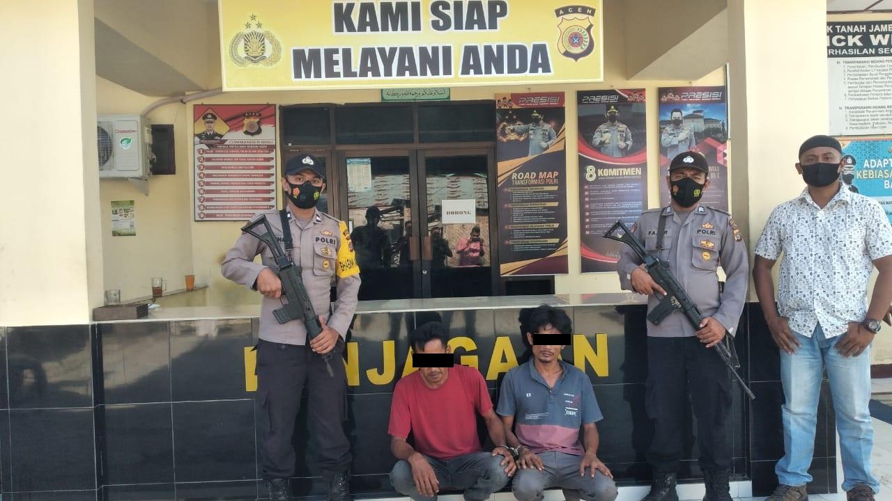 Ancam Korban Pakai Pisau Dapur, Kawanan Begal di Aceh Utara dibekuk Polisi