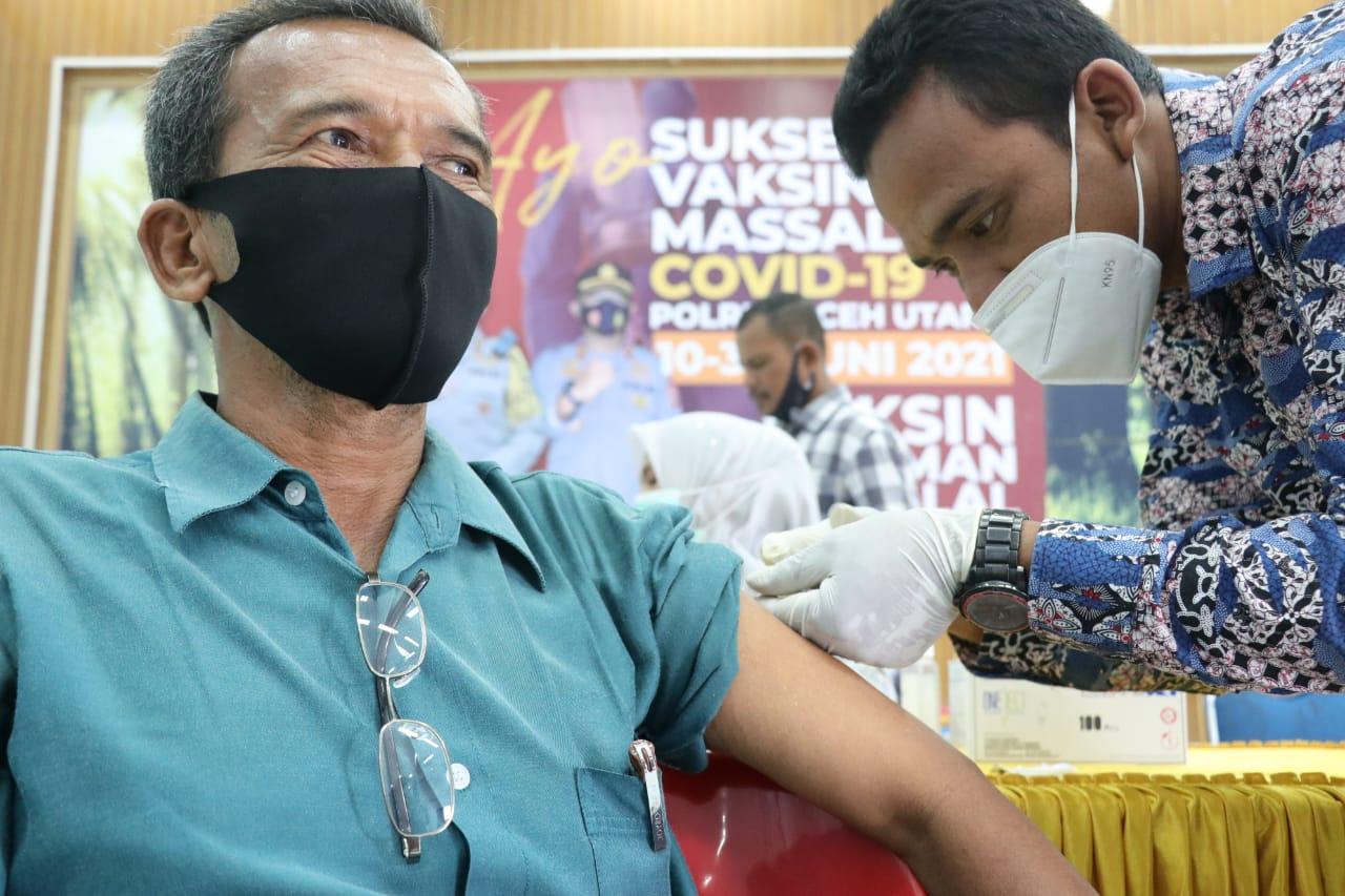 Yuk Ikut Vaksinasi Covid-19 di Polres Aceh Utara, Terbuka Untuk Umum 10-30 Juni