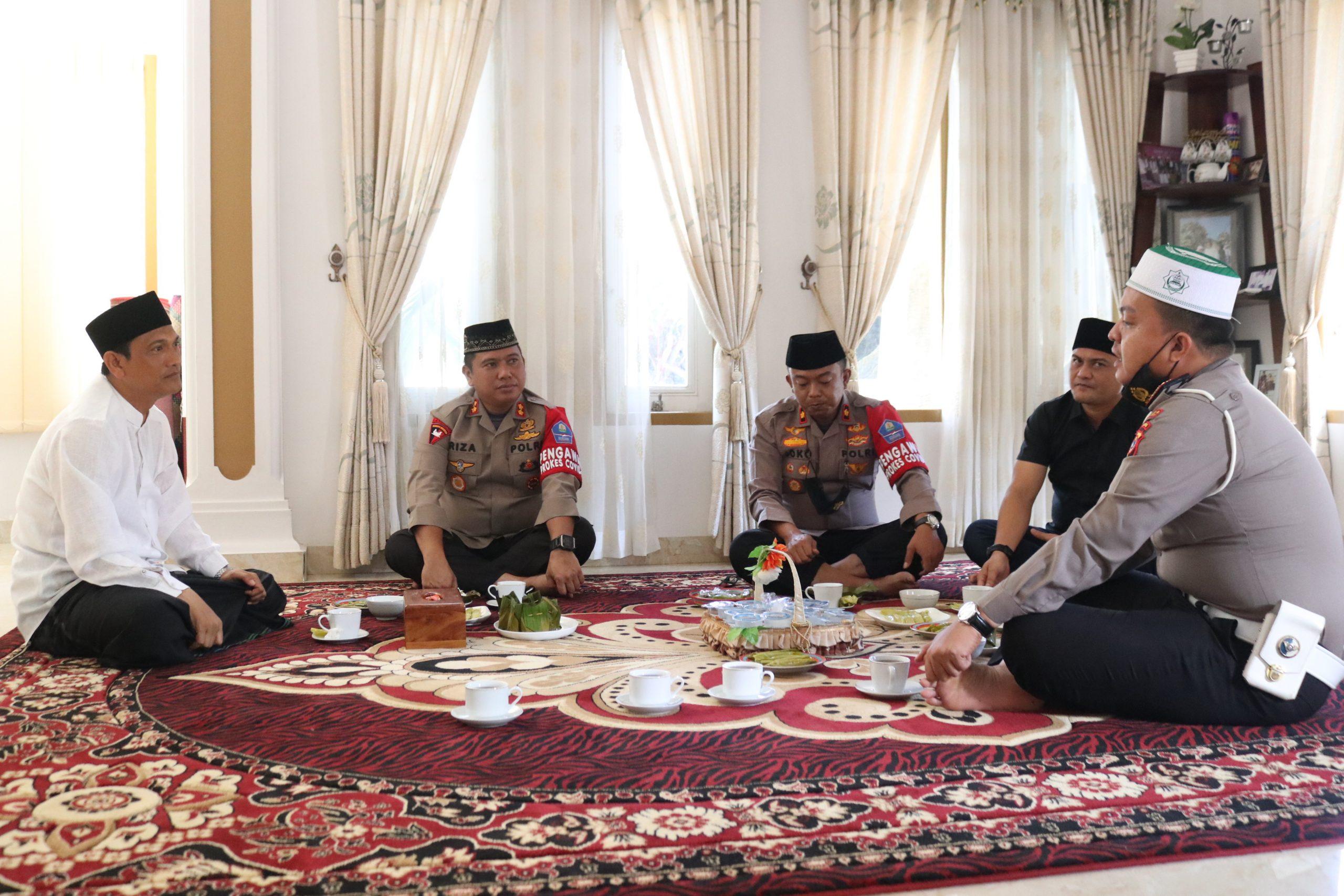 Ulama dan Umara,Tali Silaturahmi Kapolres Aceh Utara dengan Para Tokoh Agama semakin erat.